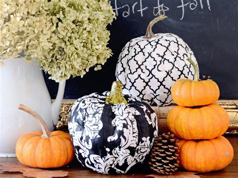 Decoupage Pumpkin - 6 fabulous ways to decoupage pumpkins diy network