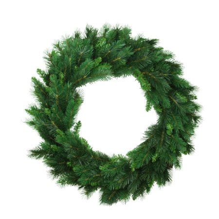 majestic noelpine artificial christmas tree 30 quot imperial majestic mixed pine artificial wreath unlit walmart