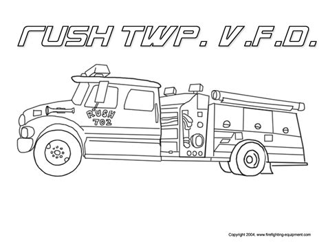 Fire Truck Coloring Pages To Download And Print For Free Firetruck Color Page
