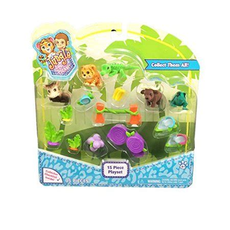 In My Pocket by Jungle In My Pocket 15 Playset Style 1 Walmart