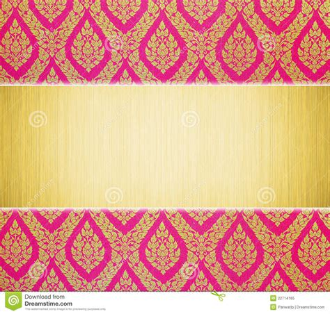 traditional pattern photography metal plate and thai traditional pattern royalty free