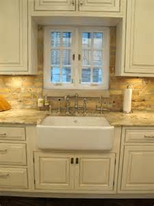 Kitchen With Brick Backsplash Lincoln Park Chicago Kitchen With Brick Backsplash Dresner Design Traditional Kitchen