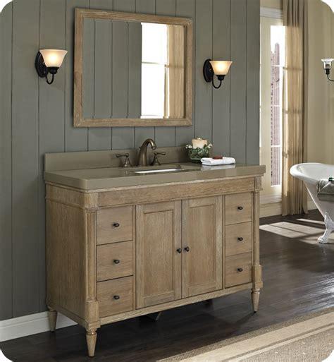 rustic modern bathroom vanities fairmont designs 142 v48 rustic chic 48 quot modern bathroom