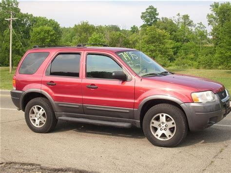 2004 Ford Escape Mpg 2004 Ford Escape Xlt For Sale In Miamisburg Springboro
