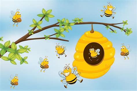 Les Abeilles Chansons Pour Enfants Sur Hugolescargot Com