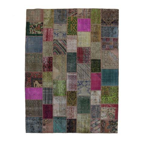 Vintage Patchwork Rugs - various vintage patchwork rug 276x369cm
