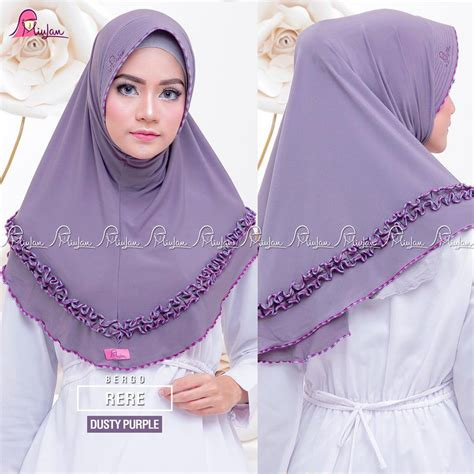 Bergo Rere By Miulan 1 rere dusty purple miulan boutique