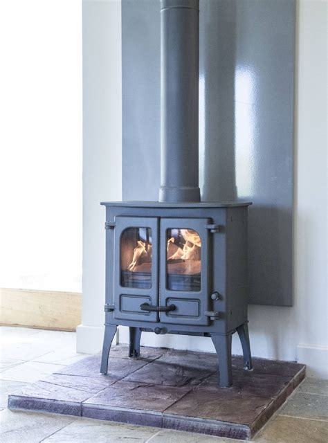 Kernow Fires are suppliers of the Vlaze Grey Heat Shield