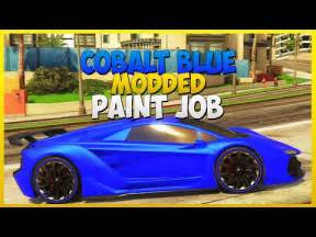 gta v crew colors gta v modded crew color shiney blue