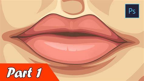 adobe photoshop vexel tutorial part 1 tutorial membuat bibir vector vexel how to make