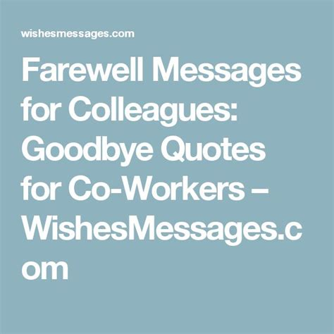 best 20 farewell quotes for colleagues ideas on pinterest