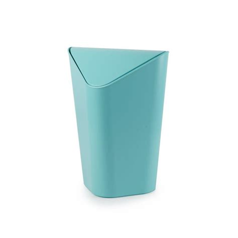 small wastebasket umbra corner 2 75 gal plastic waste basket 086900 276