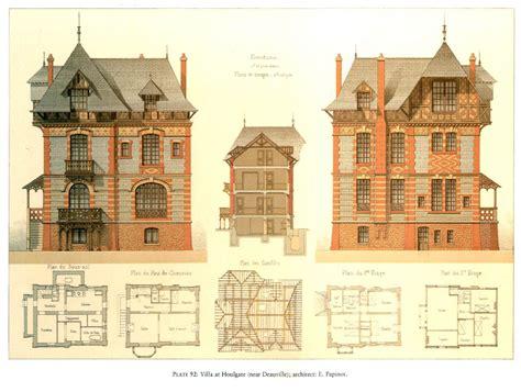 Victorian Mansion Floor Plan by