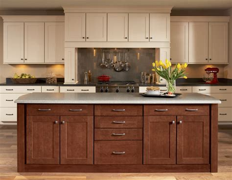 shenandoah cabinetry craftsman kitchen other metro