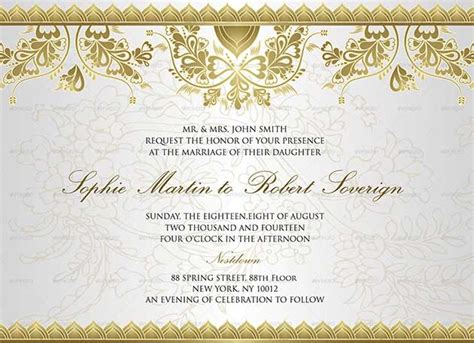 wedding card invitation template 72 best wedding invitation templates psd photoshop indesign
