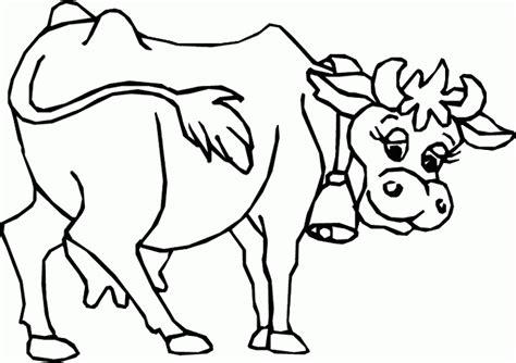 imagenes para pintar las uñas dibujos de vacas para colorear dibujoswiki com