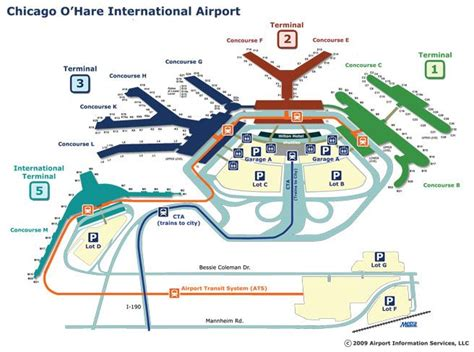 ord airport map outside the fence chicago o hare airport from