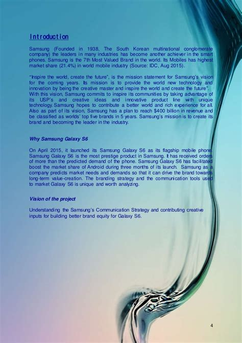 mission statement of samsung company what is the vision and mission statement of samsung