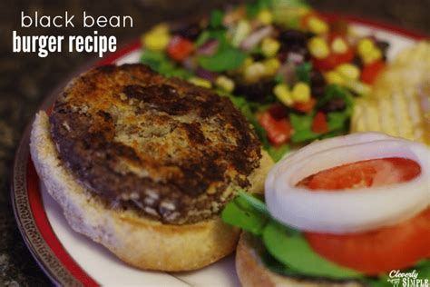 black bean burger recipe deliciously homemade cleverly simple 174 recipes diy from our