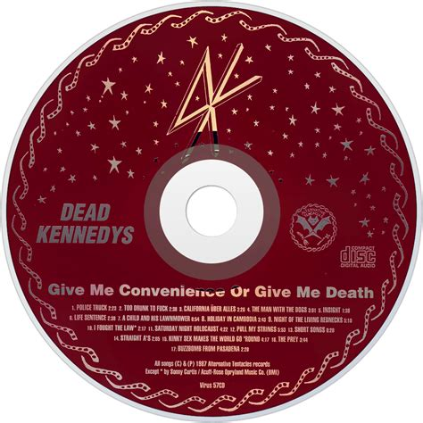 Cd Dead Kennedys Give Me Convenience Or Give Me Import dead kennedys fanart fanart tv