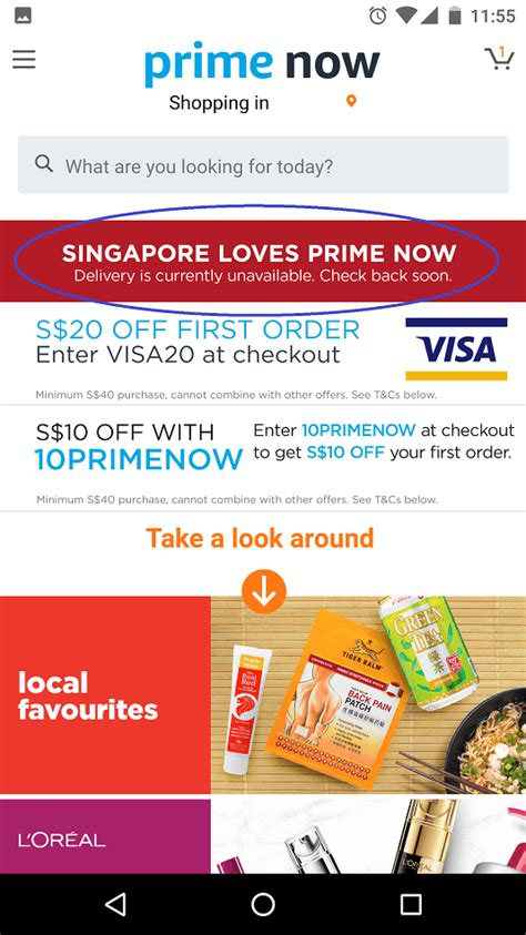 amazon now singapore looks like amazon prime now is still down in singapore