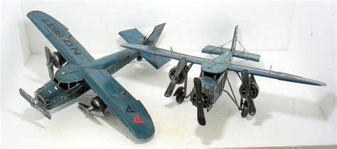 Sheet Metal Aircraft by 2 Handmade Sheet Metal Propeller Aircraft Catawiki