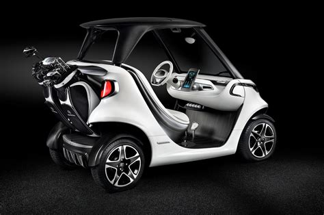 golf car mercedes benz introduces luxury golf cart good for 19 mph