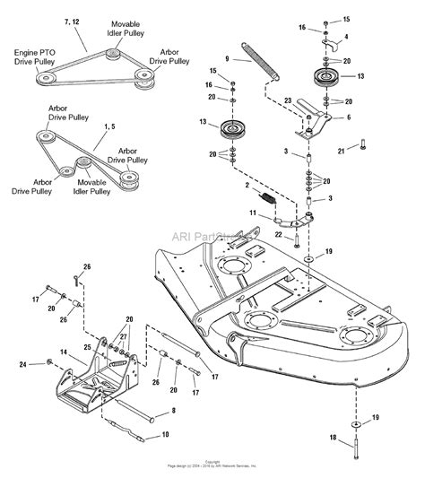 simplicity conquest mower deck wiring diagram simplicity