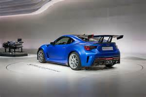Subaru Aftermarket Subaru Brz Sti Performance Concept Unveiled At 2015 New