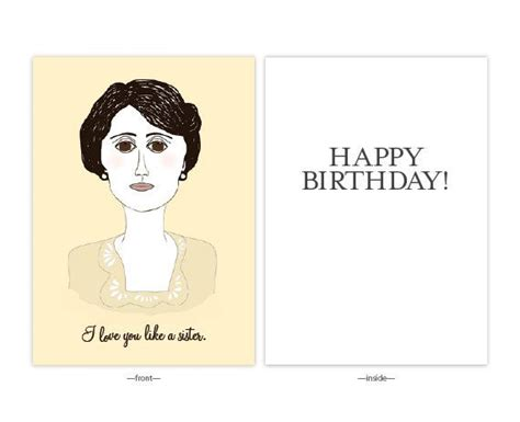 Downton Birthday Card Downton Birthday Card Downton Abbey Lady Mary Sister