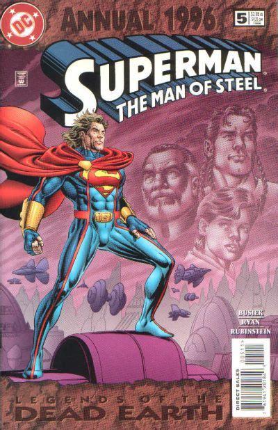 superman man  steel annual vol   dc
