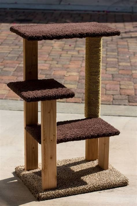 Handmade Cat Trees - decided to try my at building my own cat tree