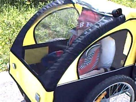 carrello porta per bicicletta carrello porta bimbo per bicicletta ammortizzato 25apr10