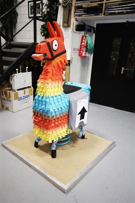 fortnite pinata fortnite llama 3d creations