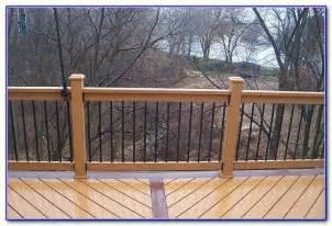 cedar deck railing ideas decks home decorating ideas