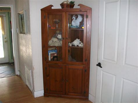 corner curio cabinets for sale corner curio cabinet for sale antiques com classifieds