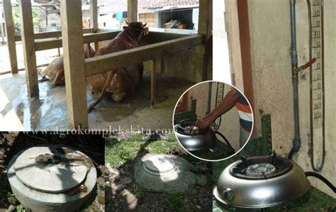 Oven Gas Skala Rumah Tangga pengeloaan limbah ternak sapi agrokompleks mmc