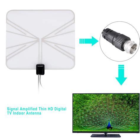 digital indoor tv antenna hdtv dtv box ready hd vhf uhf high gain is6h ebay