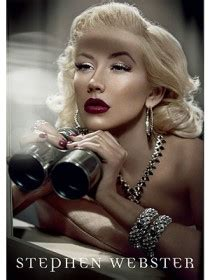 Fab Ad Aguilera For Stephen Webster by Catwalk Aguilera As The New Of