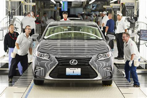 first lexus made the first lexus ever made in the us rolled off the
