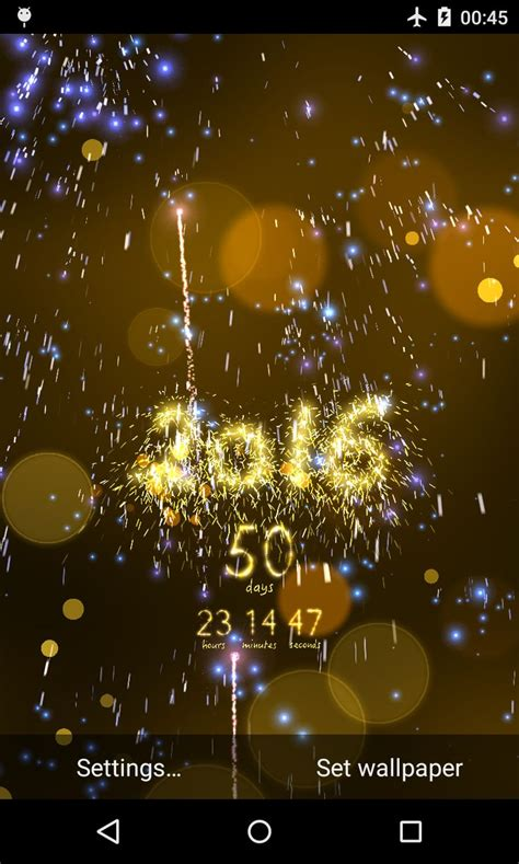 android wallpaper new year new year 2016 countdown live wallpaper for android a