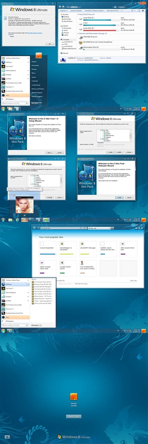 download themes for windows 7 like windows 8 windows 8 transformation pack for windows 7 now available