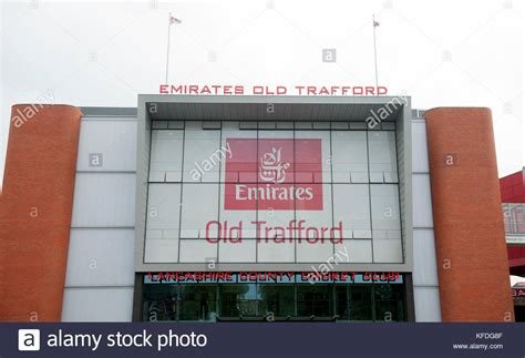 emirates old trafford lancashire old trafford stock photos lancashire old
