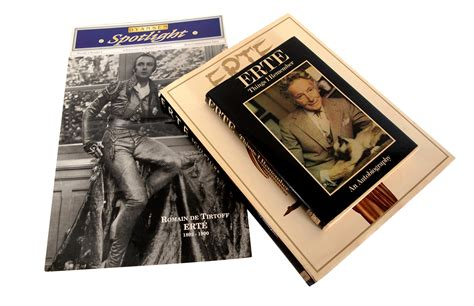 Ireland Coffee Table Book Erte Sculpture Coffee Table Book Autobiography And Commemorative Item Books Set Of 3 Chairish