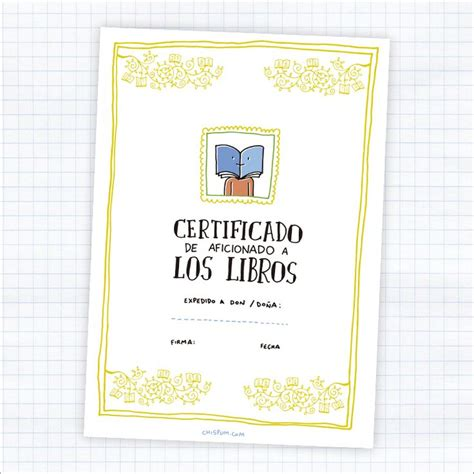 libro seeing seeds diploma chispum certificado de aficionado a los libros free printables imprimibles gratis