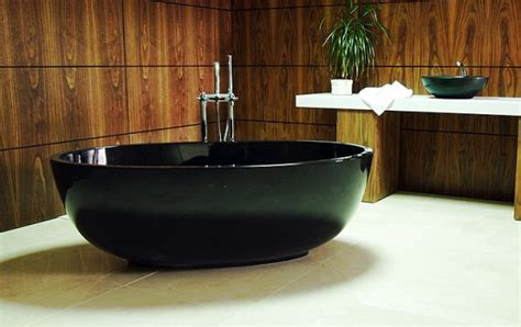 black freestanding bathtub new compact black freestanding bathtub the petit by