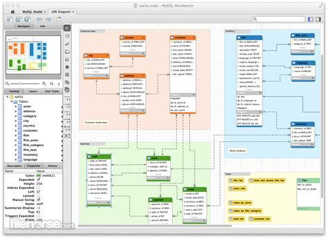 mysql workbench diagram mysql workbench 6 3 10 for mac filehorse