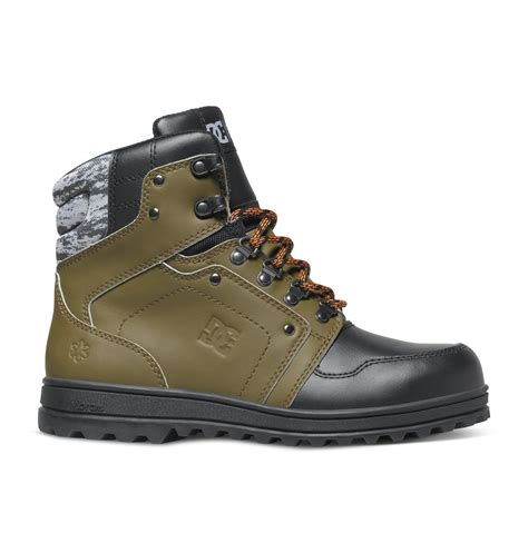 s spt mountain work boots admb700011 dc shoes