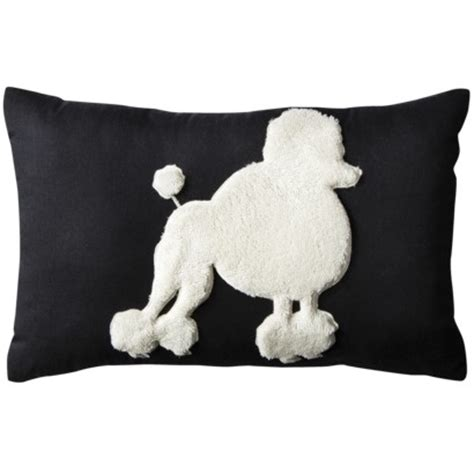 poodle pillow everything poodles