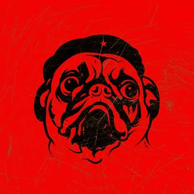 obey the pug pug revolution icon invitations on